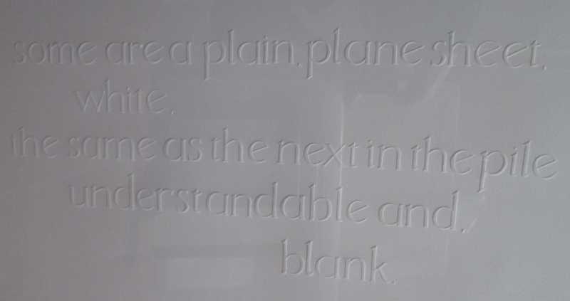 Ruth Newman - Oscar Rees poem Unfolded. IMG_1405